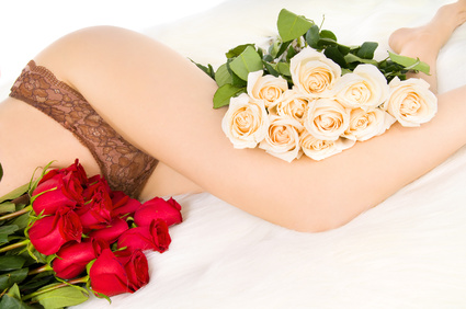 Legs and roses